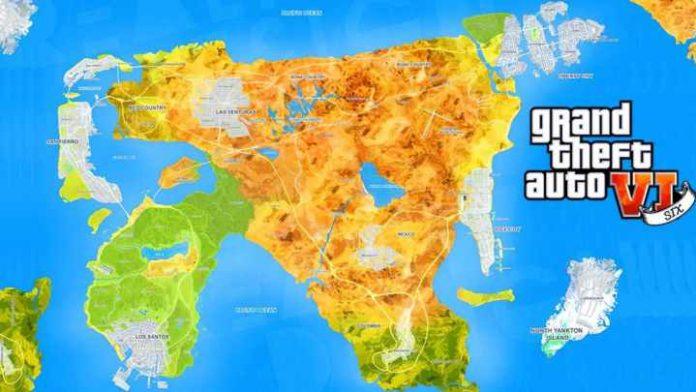 gta 6 mappa ufficiale