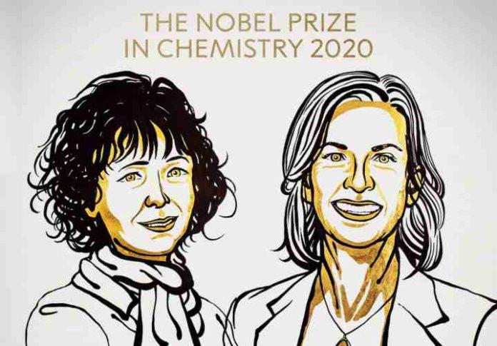premio nobel per la chimica 2020