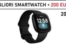 Migliori Smartwatch sotto i 200 euro 2021