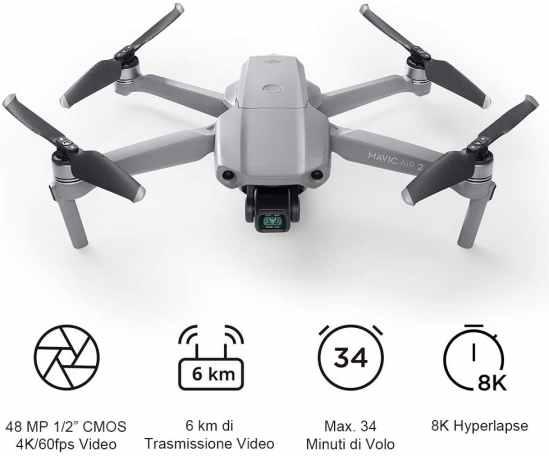 migliori droni sotto i 1000 euro-DJI Mavic Air 2