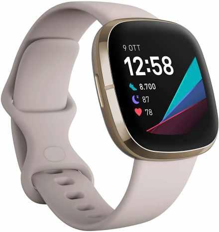 migliori smartwatch sotto i 300 euro-fitbit sense
