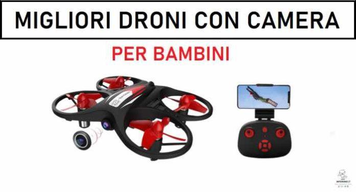 Migliori droni con camera per bambini