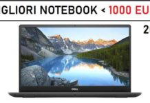 Migliori notebook sotto i 1000 euro 2021