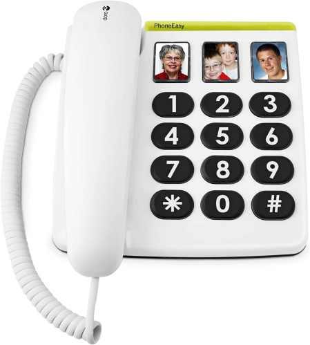 Telefono Fisso per non Vedenti