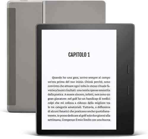 miglior ebook reader-kindle oasis