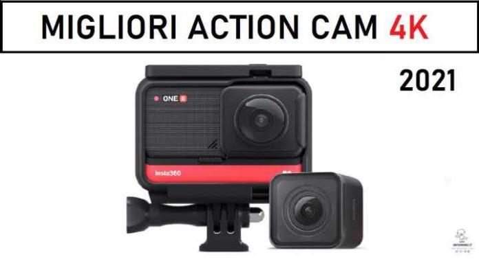migliori action cam 4K 2021