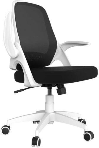 migliori sedie ergoniche per studiare-hbada white