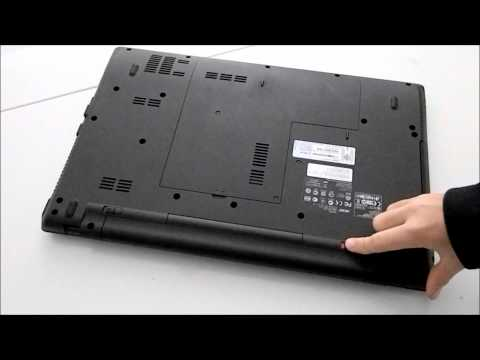 Come togliere la batteria Acer-3
