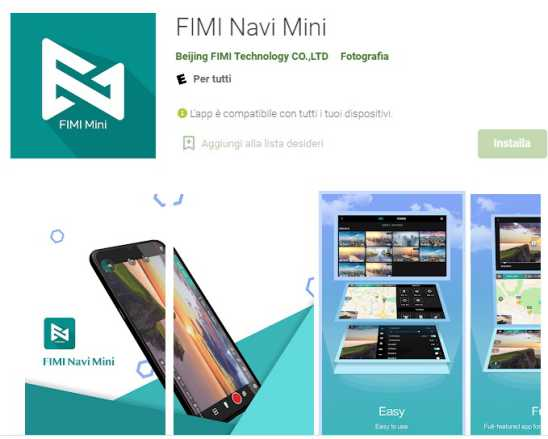 Fimi X8 Mini app