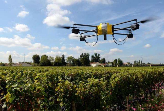 droni per coltivare