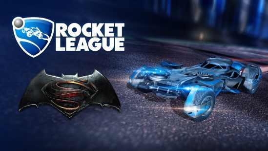 migliori auto rocket league-batmobile