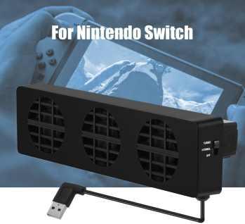 migliori accessori nintendo switch-ventola