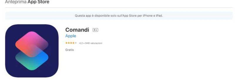 migliori comandi rapidi iphone-app