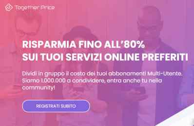 come cancellare account together price-2