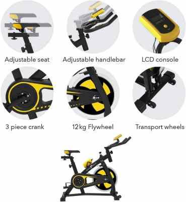 migliori cyclette-nero sport